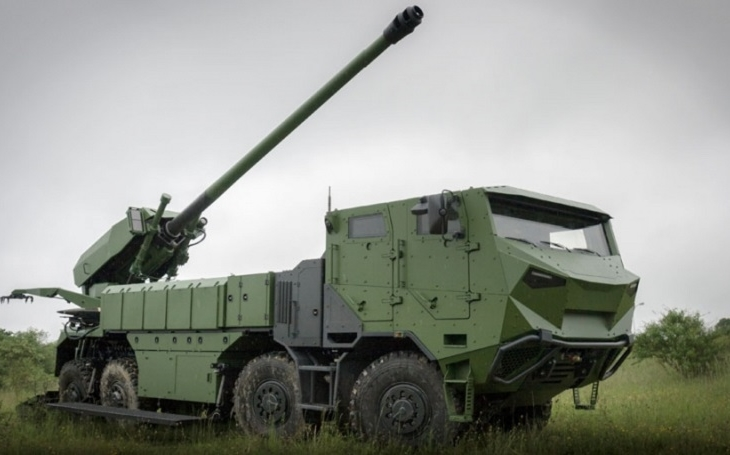 Dánsko pořídí houfnice CAESAR na podvozcích Tatra