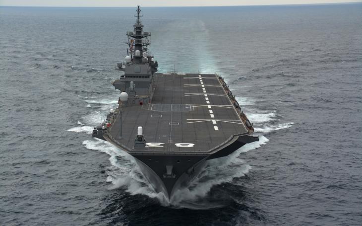 Japonsko má opět loď jménem Kaga
