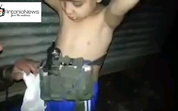 (VIDEO) Irackí vojaci zachránili mladého chlapca, ISIS ho vyslal na samovražednú misu