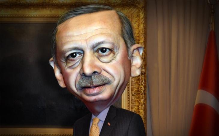 Erdoğanova hra o nervy