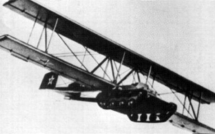 Létající tank Antonov A-40