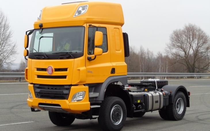 Tatra dodává sedlové tahače