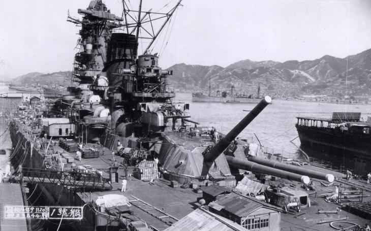 Gigantická bitevní loď kapitána Fujimota měla nést až 55 letadel