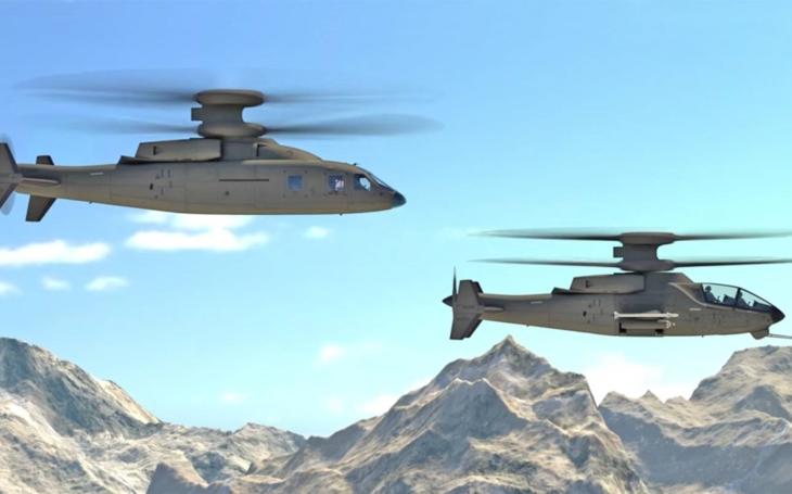 Sikorski a Boeing představily koncept nového útočného vrtulníku FLV