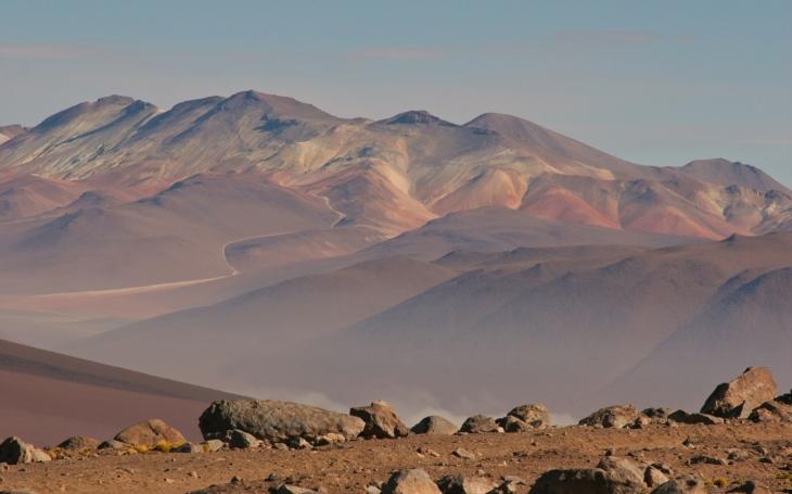 Pokud je na Marsu život, podobá se tomu v poušti Atacama