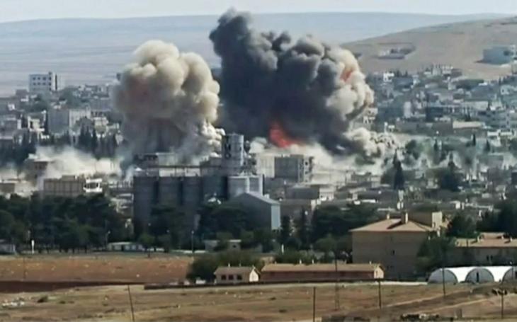 Nálety mezinárodní koalice v Sýrii zabily 26 civilistů