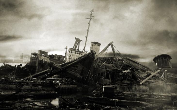 Video: Hřbitov lodí na Staten Island
