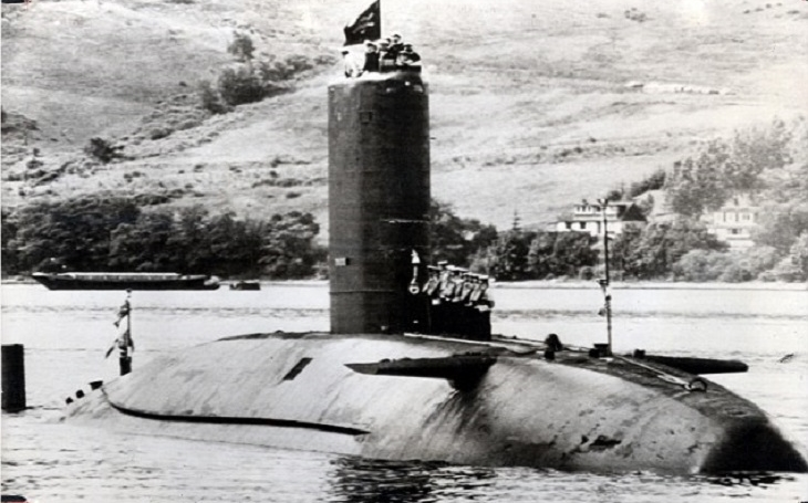 HMS Conqueror - Jediná jaderná ponorka, která kdy potopila loď nepřítele