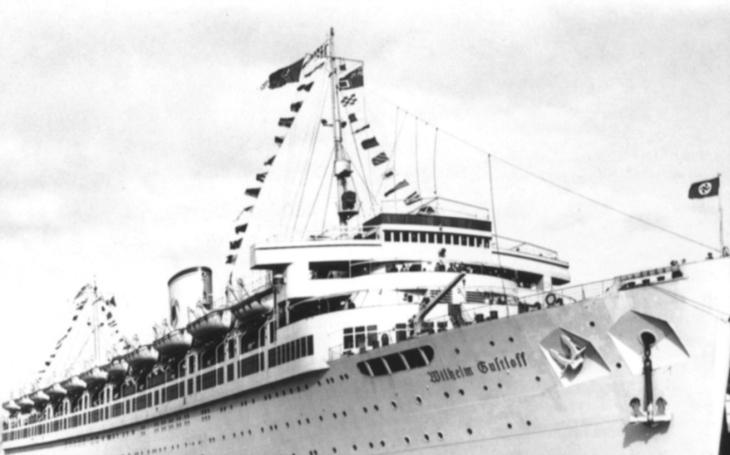 Potopení lodě Wilhelm Gustloff bylo největší námořní tragédií v dějinách. Zahynulo šestkrát více lidí než na Titaniku