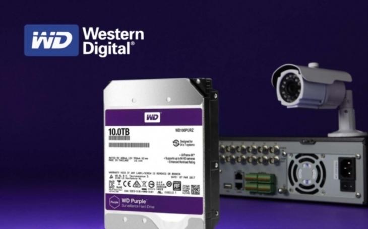Western Digital zvyšuje kapacitu pevných disků určených pro dohledové bezpečnostní kamerové systémy na 10 TB