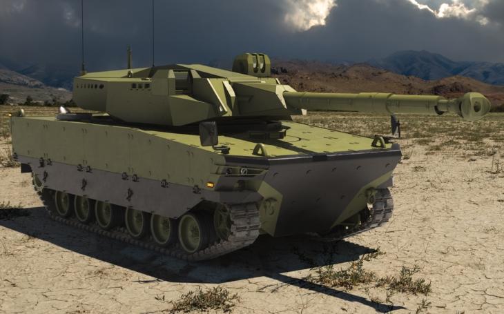 Turecký střední tank Kaplan MT se představil na IDEFu