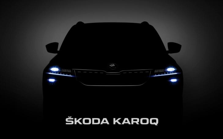 První detailní fotografie nového SUV ŠKODA KAROQ