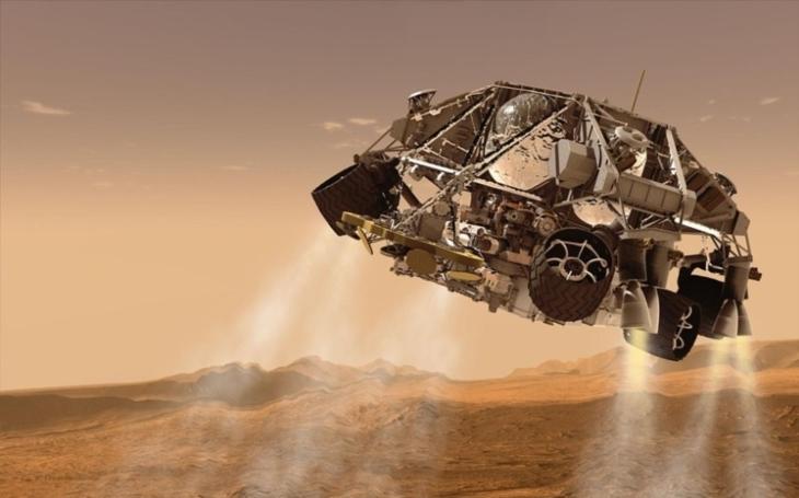 VIDEO: Karbonový rover, který měl brázdit Mars, vypadá jako Batmobile