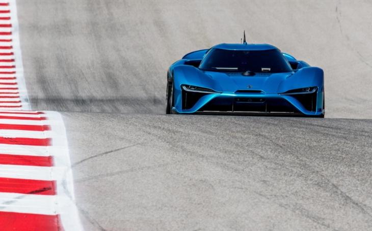 NIO EP9: Nejrychlejší sériový vůz na Nürburgringu