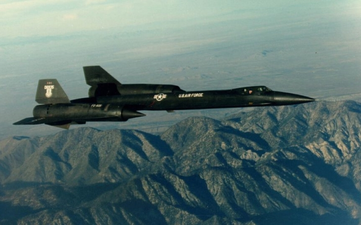 US Air Force chtělo z SR-71 záchytný stíhač s rychlostí 3 Machy
