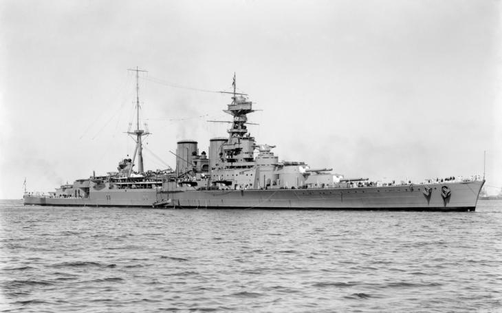 24.5.1941 explodoval HMS Hood během bitvy s německou bitevní lodí Bismarck