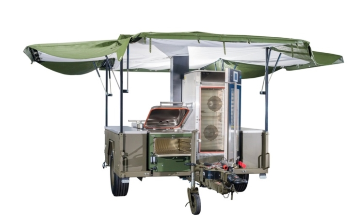 Novou polní kuchyni pro armádu a složky integrovaného záchranného systému vyvinula společnost Agados