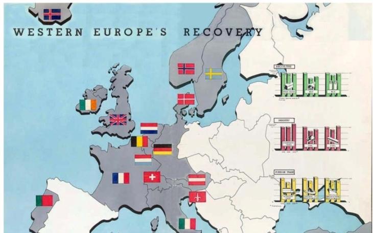 Před sedmdesáti lety byl vyhlášen Marshallův plán, program poválečné obnovy Evropy