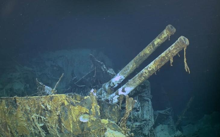Tým Paula Allena nalezl vrak italského torpédoborce v hloubce 3 700 metrů