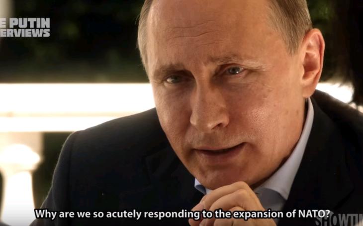 Putin sa v exkluzívnom rozhovore vyjadril na tému vzťahov Ruska s NATO a USA
