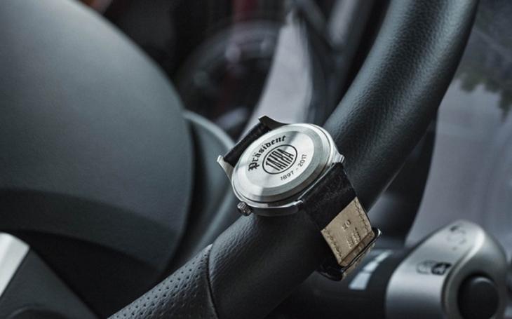 TATRA TRUCKS a ELTON hodinářská představují limitovanou edici hodinek PRIM Präsident