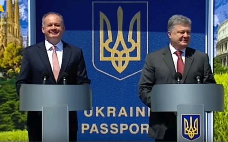 (VIDEO) Takto vyzeral prvý bezvízový deň pre Ukrajincov
