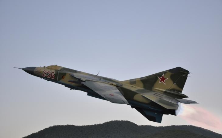 MiG-23 u nás a v Afghánistánu