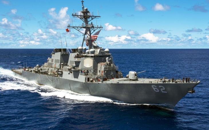 Americký torpédoborec USS Fitzgerald