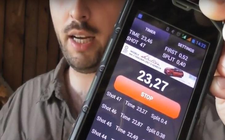 Vychytávky střeleckého timeru pro Android. Tacticoolna vybírá aplikaci
