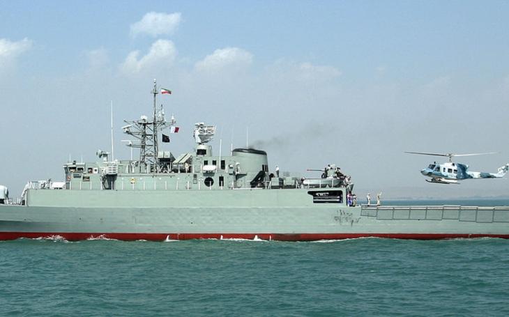Iránske námorníctvo poslalo svoje najnovšie lode na masívne vojenské cvičenie v Kaspickom mori