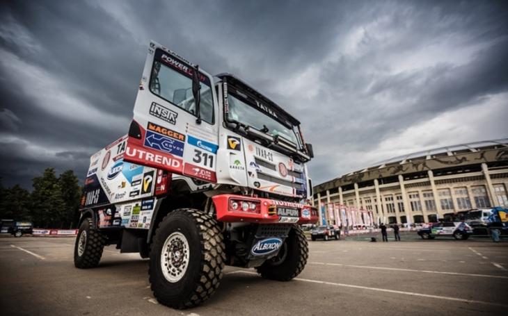 TATRA vítězí v první etapě Silk Way Rally 2017