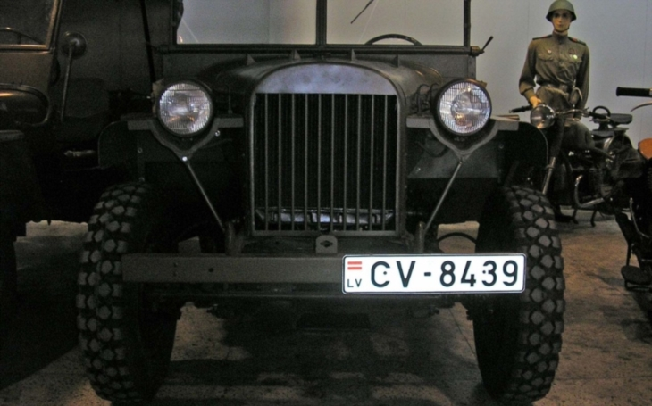 Sovětský terénní automobil - GAZ-64