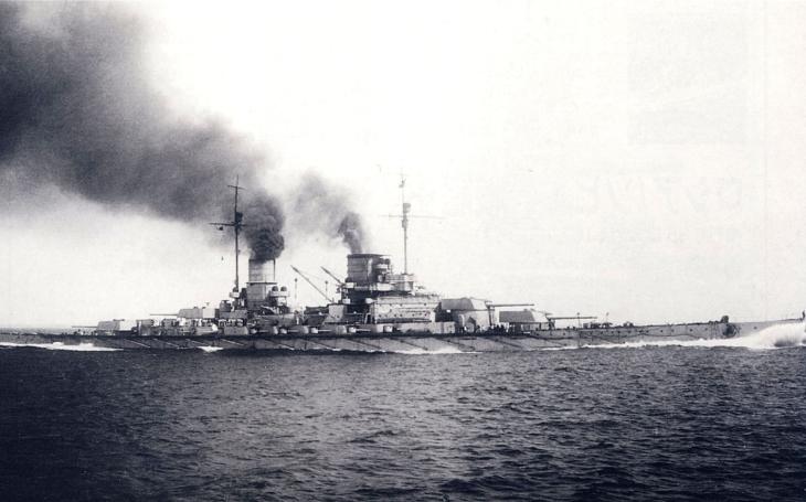 Záběry vraku lodi SMS Lützow, potopené roku 1916 po Bitvě u Jutska