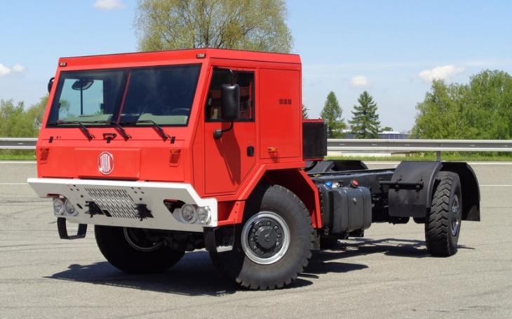První vozy Tatra Force pro Chile