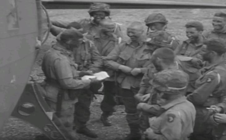 Dobové zábery 101.výsadkovej divízie, v predvečer D-Day