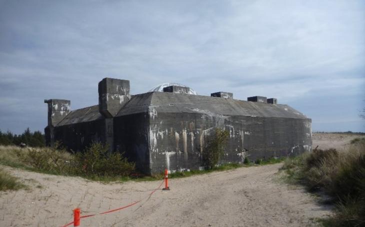 VIDEO: Největší nacistický bunkr v Dánsku přeměněn v podzemní muzeum