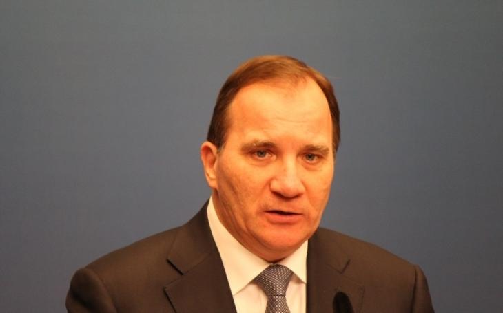 Skandál, který se týkal Čechů, považuje švédský premiér za fiasko