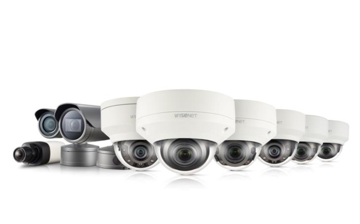 Integrace předních systémů pro správu videa (VMS) a kamer Hanwha Techwin Wisenet X