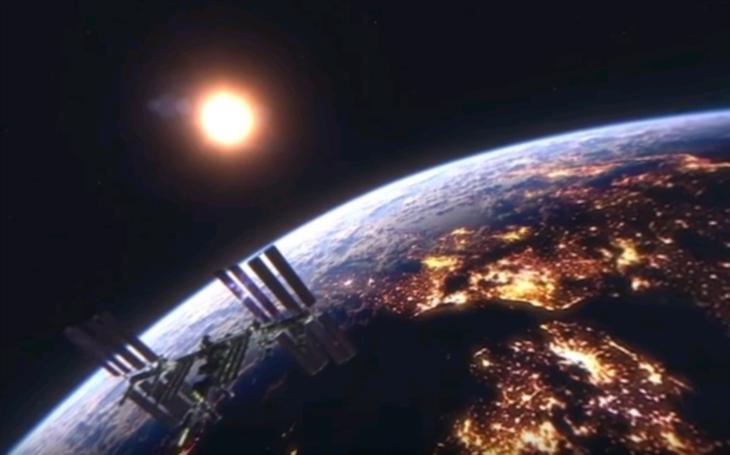 (VIDEO 360 °) Neskutočne zábery, ocitnete sa priamo vo vesmíre, alebo na stanici ISS