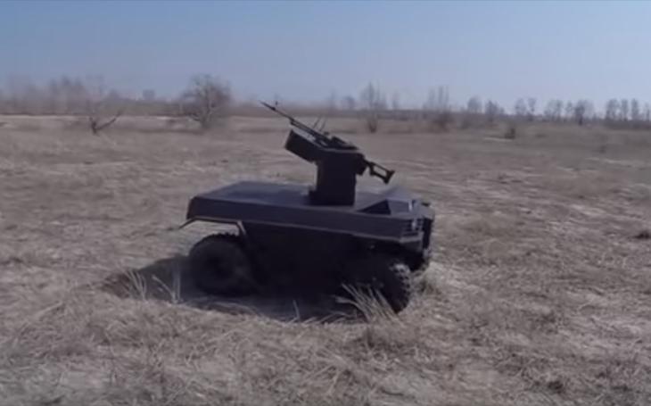 Zabijácké UGV z Ukrajiny má poetické jméno Laska