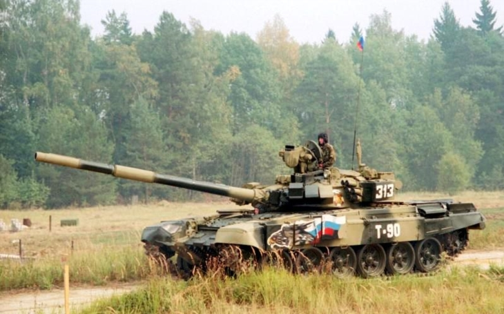 Tím Ruska nastavil nový rekord v biatlone tankov v rámci medzinárodných vojenských hier