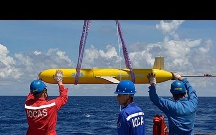 Čína vypustila do Jihočínského moře sofistikované ponorkové drony Haiya