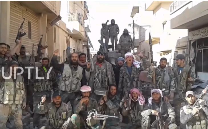 (VIDEO) Sýrska armáda oslobodila poslednú pevnosť ISIS v provincii Homs
