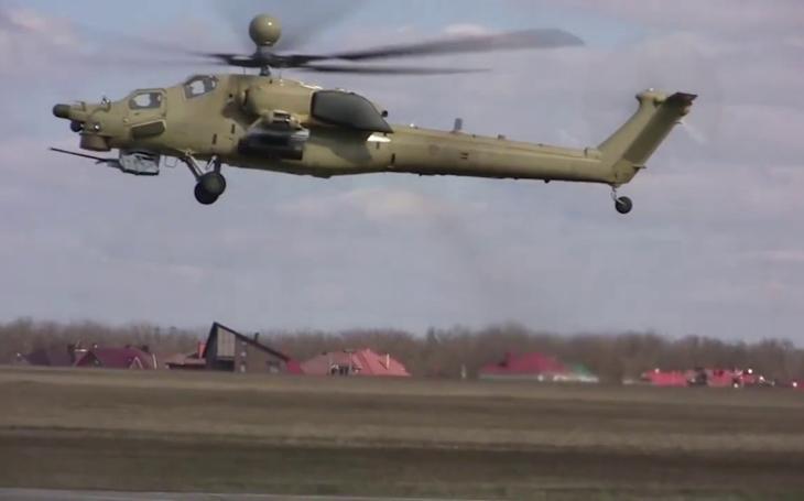 Nový ruský bojový vrtulník Mi-28UB podstoupí testy v Sýrii