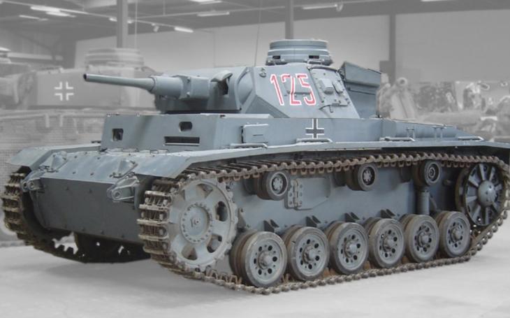 Legendárny nemecký tank Panzerkampfwagen III