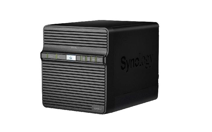 DiskStation DS418j: Výkonný 4 šachtový NAS pro domácí zálohování a přenos multimédií
