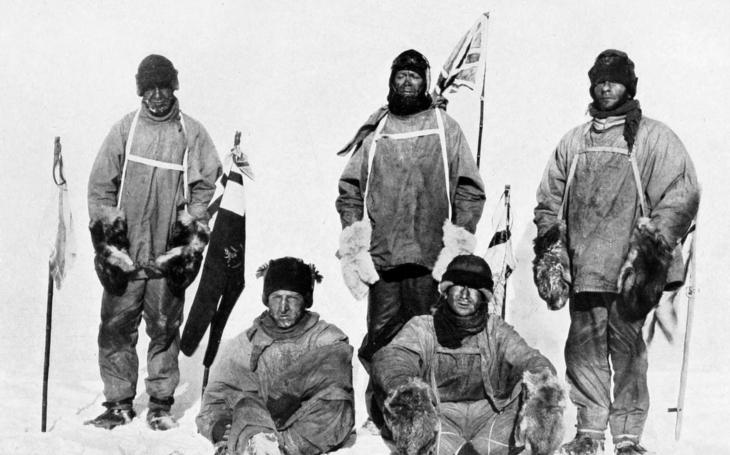 Koláč polárníka Scotta nalezen sto let po katastrofě britské výpravy k jižnímu pólu