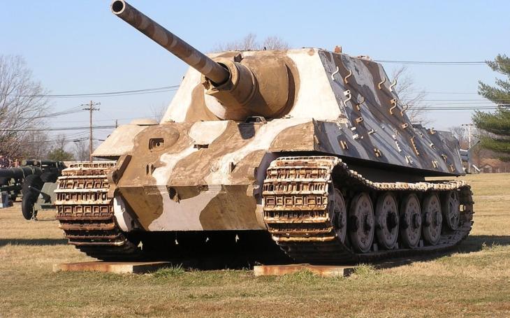 Jagdtiger: Hitlerovo 72 tunové monstrum