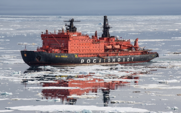Ledoborec dosáhl Severního pólu v rekordním čase