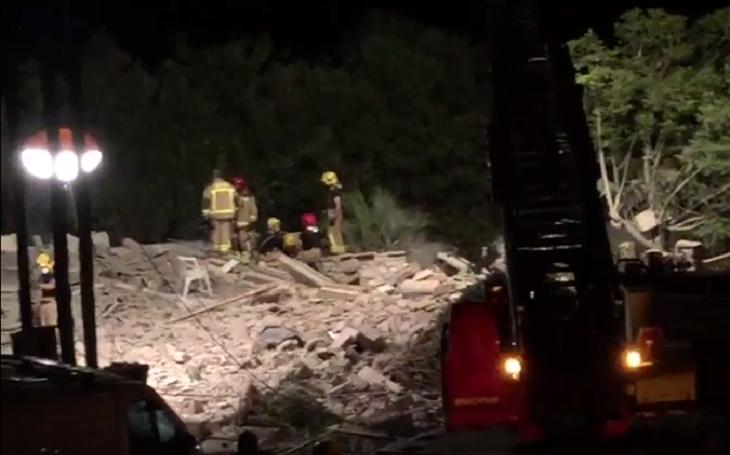 Výbuch domu v Alcanaru v Katalánsku může souviset s teroristickým útokem v Barceloně